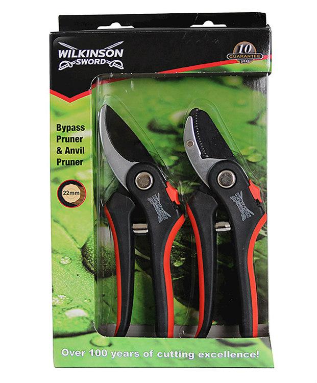 Deluxe Pruner Twin Pack. Picture; Wilkinson Sword