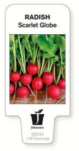 Compostable plant label. Picture; Johnsons