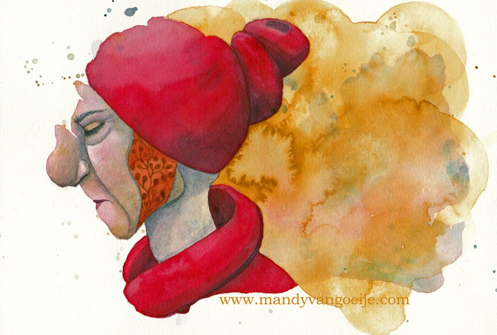 Color my Page #3: Daniel Smith watercolors – the Caroline edition