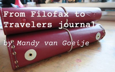 Transforming a Filofax into a Traveler's journal