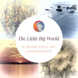 The Little Big World banner for free e-book by Mandy van Goeije