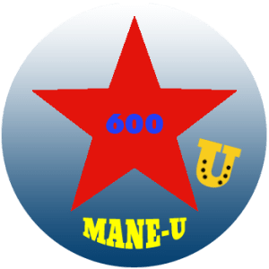 mane-u badge red star