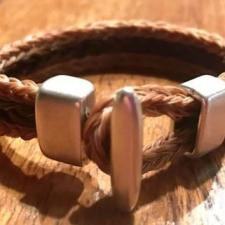 Toggle Herringbone Bracelet
