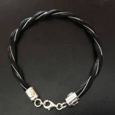 Sterling Silver Horseshoe Twist Bracelet