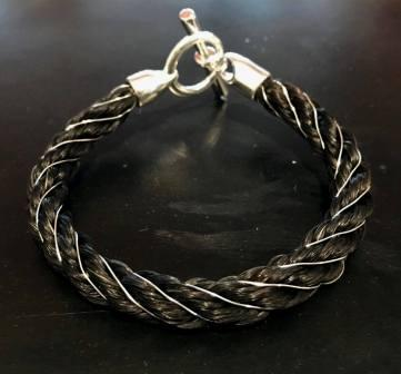 Silver Wire Wrapped Bracelet