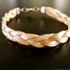 Rose Gold Braid