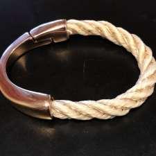 Rose Gold Half Circle Bracelet