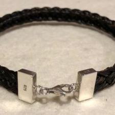 Sterling Silver Reversible Bracelet