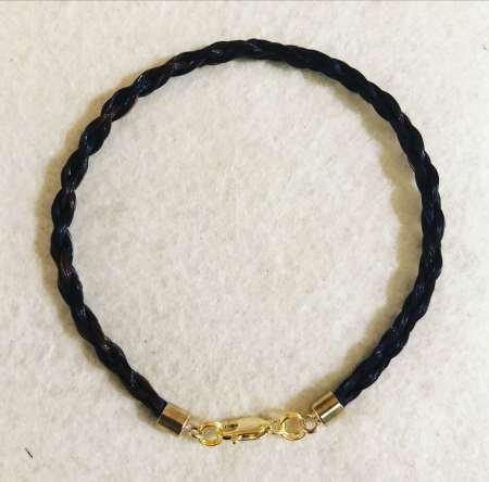 9kt Gold Rope Braid Bracelet