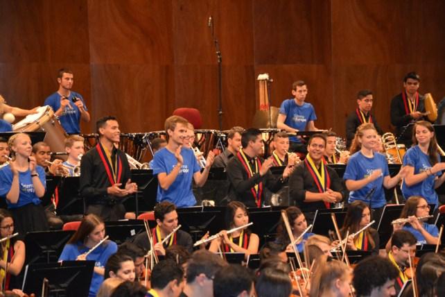 At La Scala with SEYO and Orquesta Sinfónica Simón Bolívar (photo by Jana Svobodová)