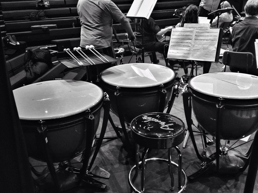 Timps in the Auden Theatre