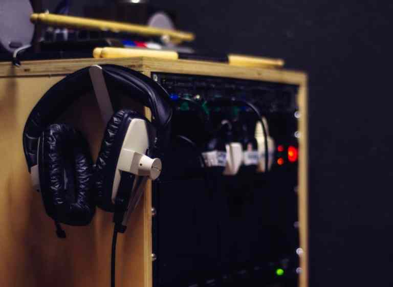 Headphone amps in the booth