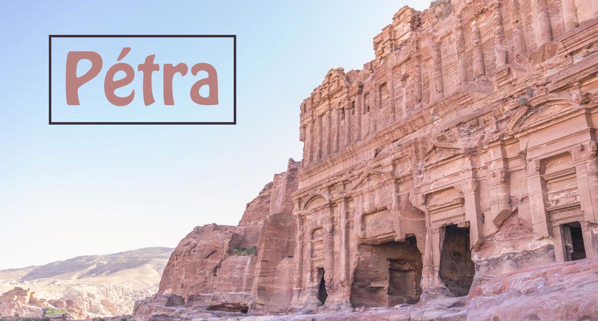 Visiter Petra - Manekitravel