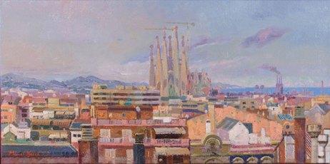 La Sagrada Família. Barcelona