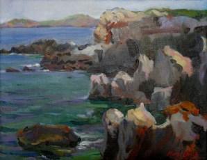 Coast of Cape Cavalleria. Menorca