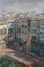 Galeries i patis de l'Eixample. Barcelona