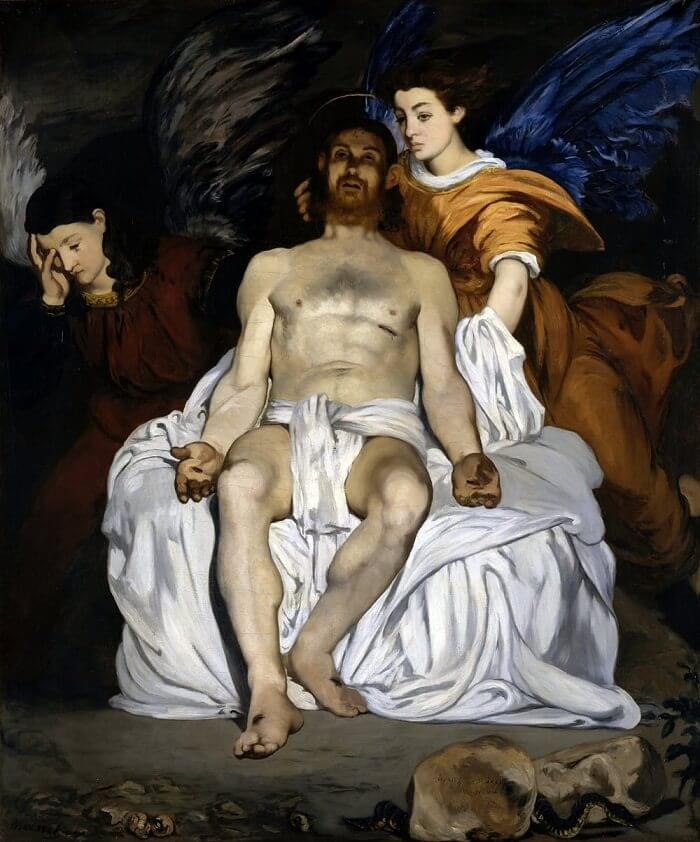 The Dead Christ with Angels, 1864 by Edouard Manet