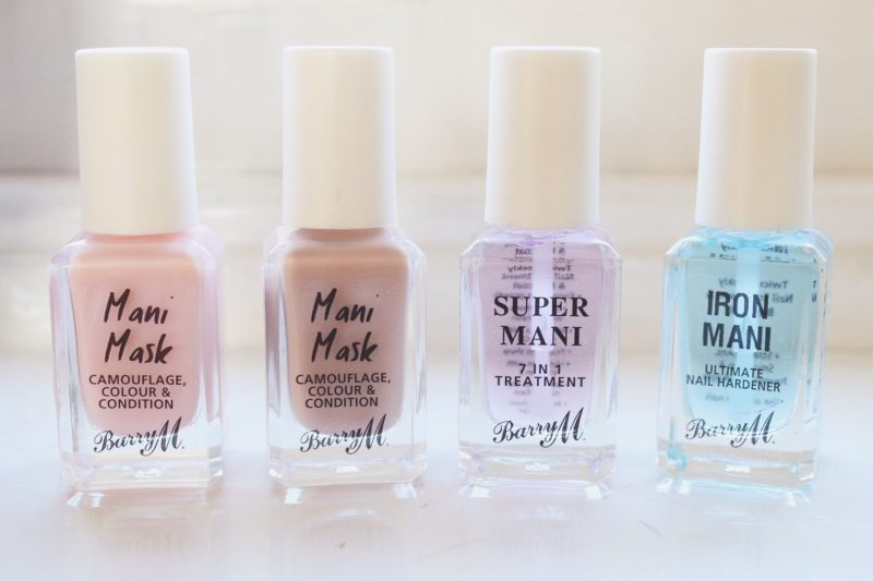 Barry M's New Nail Care Range