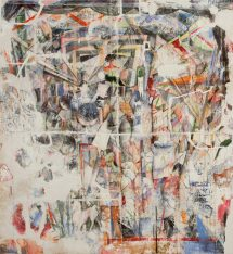 Untitled, 2009, fresco on gesso and mortar on wooden structure, cm 180x195