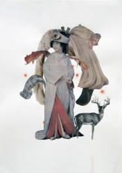 Untitled, 2007, collage on paper, cm 33x47