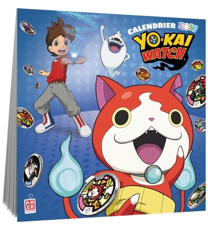 goodie - Yo-Kai Watch - Calendrier 2017 - Kazé