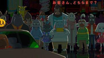 Anime – ODDTAXI – Episode #11 – Si je pouvais revenir en arrière, 21 Juin 2021