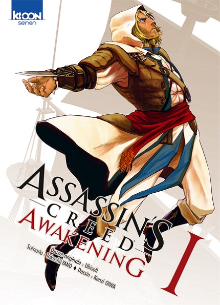 Manga - Manhwa - Assassin'S Creed Awakening Vol.1