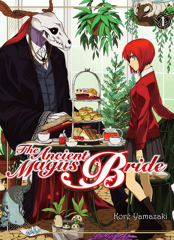 Manga - Manhwa - The Ancient Magus Bride Vol.1