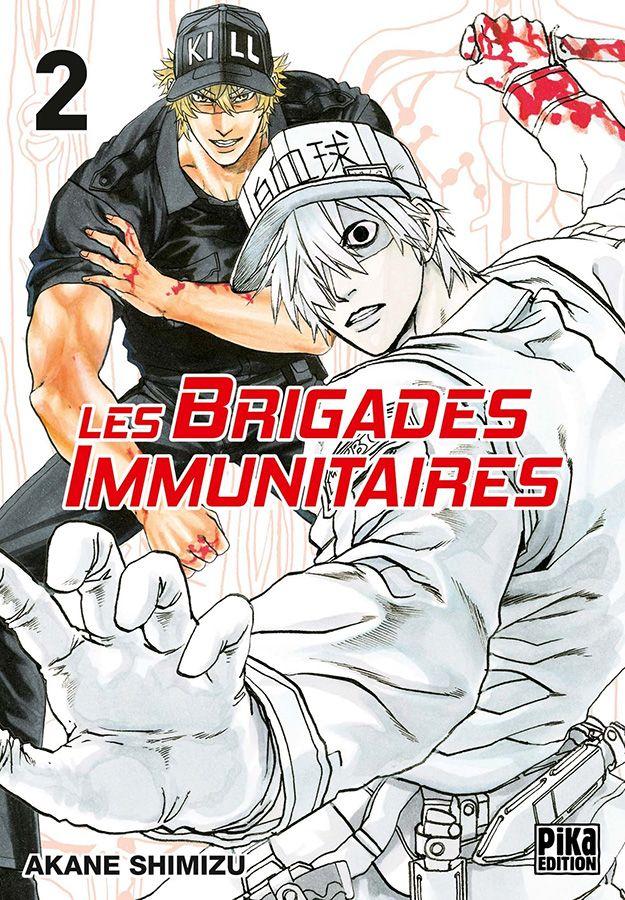 Manga - Manhwa - Brigades Immunitaires (les) Vol.2