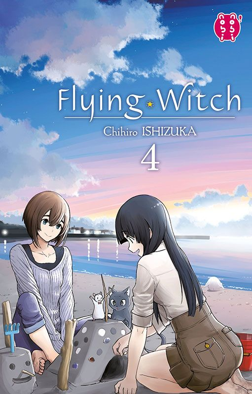 Manga - Manhwa - Flying Witch Vol.4