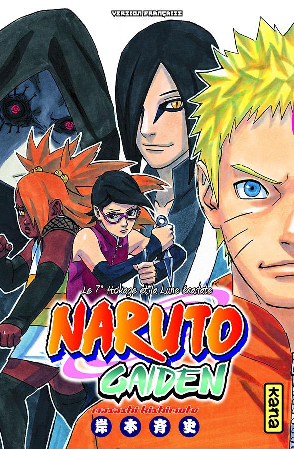 Manga - Manhwa - Naruto Gaiden - Le 7e Hokage et la Lune écarlate