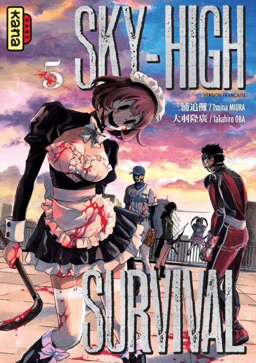 Manga - Manhwa - Sky High Survival Vol.5