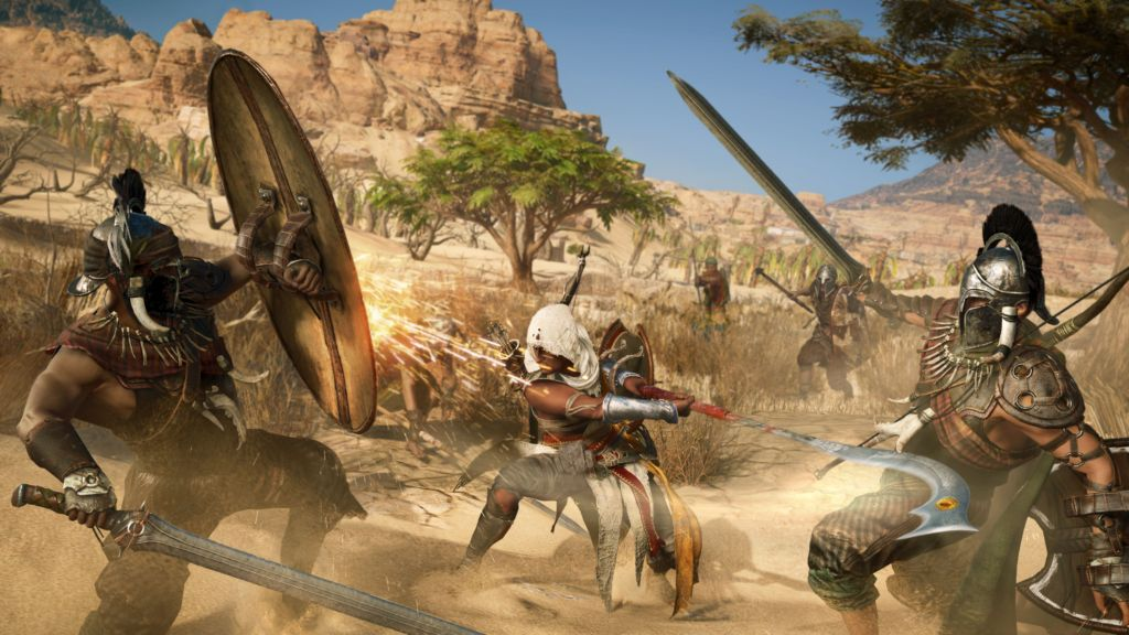 Assassin's Creed Origins: PlayStation 4 e PlayStation 4 Pro a confronto