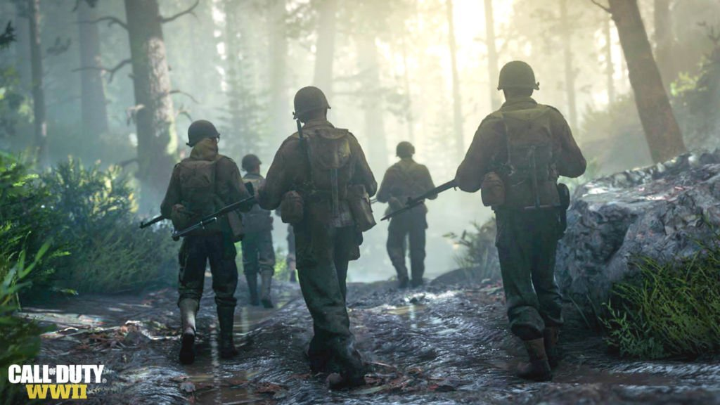 Call of Duty: WWII, il multiplayer si mostra nel trailer dell'E3 2017