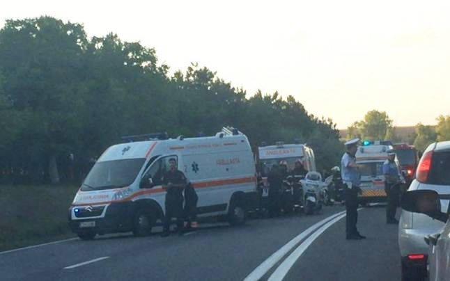 Cinci persoane au murit într-un accident produs DN 39 FOTO Carina Toma