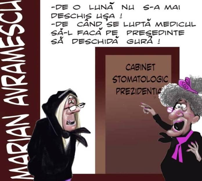 caricatura zilei-la-stomatolog-marian-avramescu