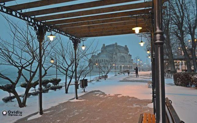 Imagine de iarnă FOTO Ovidiu Oprea