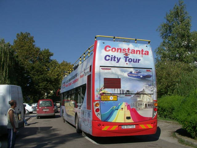 Double Decker Autobuze supraetajate mamaia