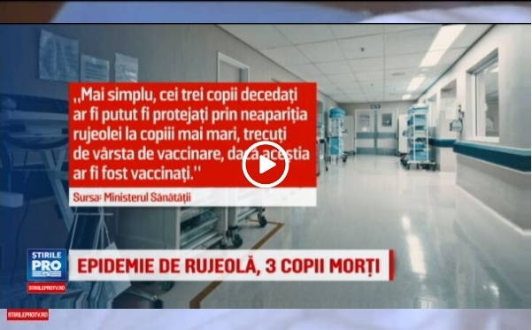 Ministerul Sanatatii A Declarat Epidemie De Rujeola Dupa Moartea A