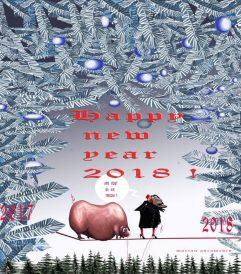 Happy New Year 2018 Marian Avramescu-b