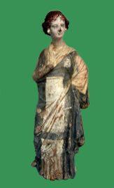 Statuetă tip Tanagra.