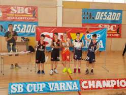 MC BALL - Campioni la Cupa SB CUP VARNA2