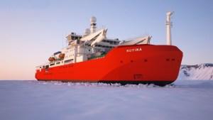 DAMEN Galați lansează la apă NUYINA, <br> cel mai mare spărgător de gheaţă al Australiei [FOTO/VIDEO]