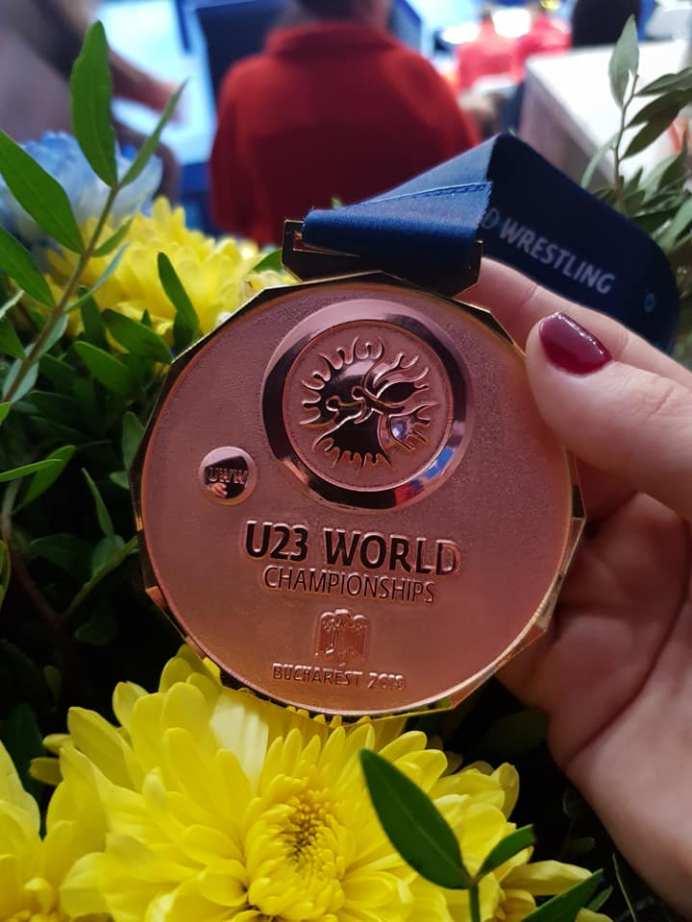 Ana Andreea Beatrice bronz Campionatul Mondial de Lupte3
