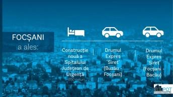 Focsani_Top 3 Proiecte