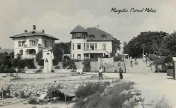 Mangalia 1938 - Parcul Motăș
