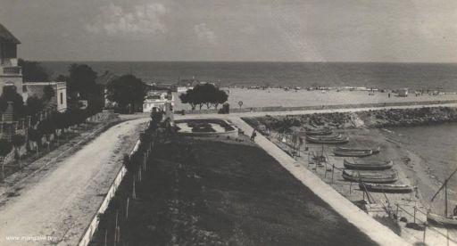 Mangalia - Faleza în anul 1938