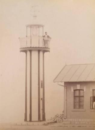 Mangalia - Farul - între anii 1880-1900