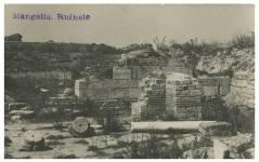 Mangalia - Ruinele cetății Callatis - 1932