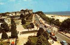 Mangalia - faleza de pe Hotel Scala - anii 80